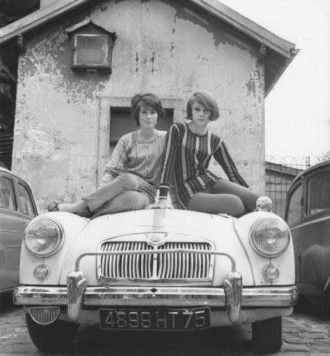 Françoise Dorléac et Catherine Deneuve
