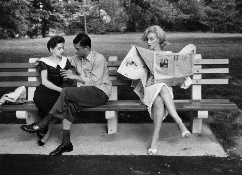 Marilyn Monroe  Sam SHAW 1957