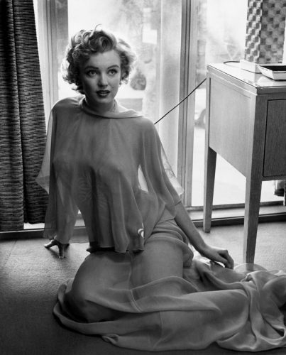 Marilyn Monroe 1953 Philippe halsman