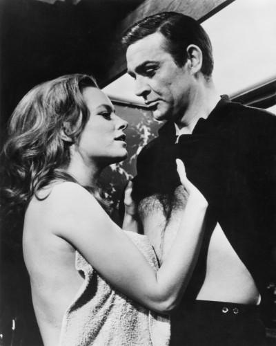Opération Tonnerre, Sean Connery & Luciana Paluzzi, 1965