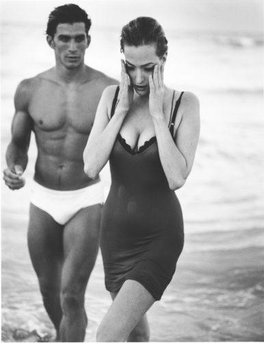 Bruce WEBER, Tatjana Patitz & Nestor Love 1990