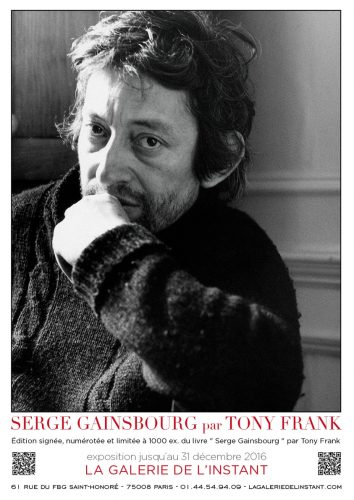 Tony Frank Livre Serge Gainsbourg