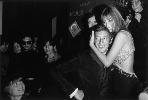 Jane Birkin et Serge Gainsbourg, Chez Régine, Paris, 1968 (© Tony Frank/ La Galerie de l'Instant)