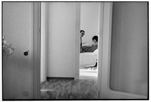 Jean-Luc Godard, Brigitte Bardot, 1963 (©jean-louis swiners / gamma-rapho / La Galerie de l'Instant)