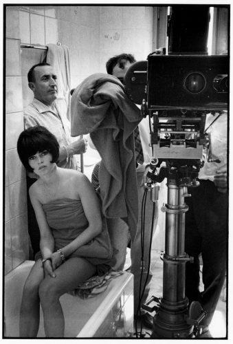 Jean-Luc Godard, Brigitte Bardot,1963 (©jean-louis swiners / gamma-rapho / La Galerie de l'Instant)