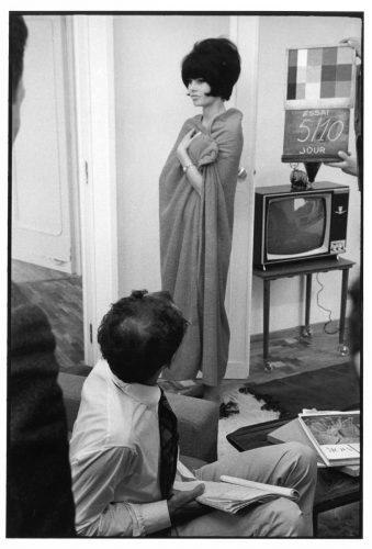 Jean-Luc Godard, Brigitte Bardot, 1963(©Jean-Louis Swiners / gamma-rapho / La Galerie de l'Instant)
