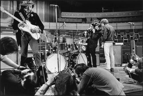 Jimmy Hendrix, Royal Albert Hall, Londres, 1969 (© Dominique Tarlé/ La Galerie de l'Instant)