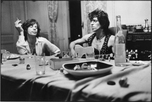Mick Jagger & Keith Richards, Villa Nellcote, Villefranche sur Mer, 1971