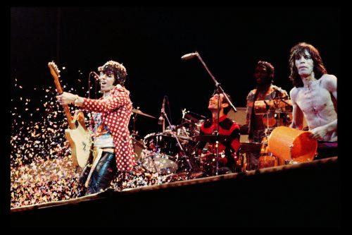 Keith Richards, Paris, 1976