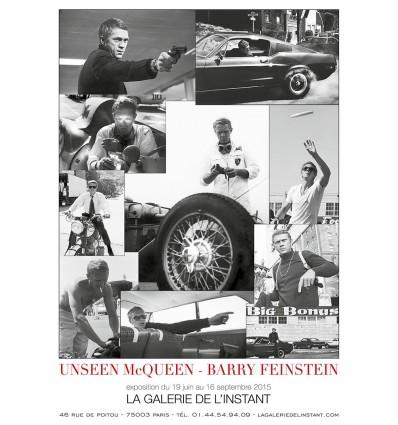 Affiche de l'exposition Unseen McQueen