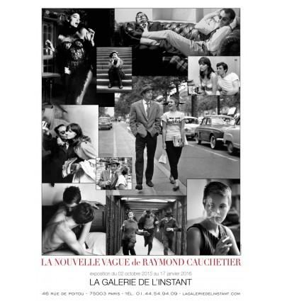 Affiche Raymond Cauchetier La Nouvelle Vague