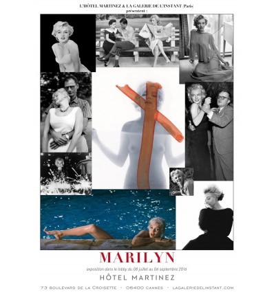 Affiche Exposition Marilyn Monroe