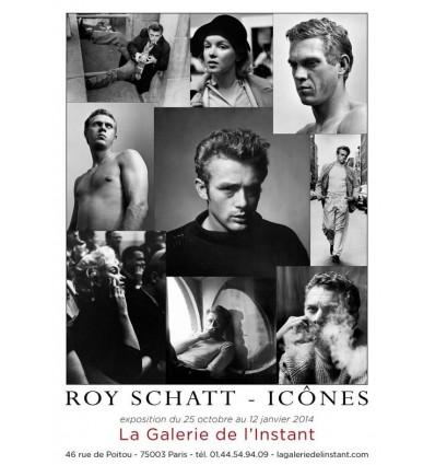 Affiche Roy Schatt