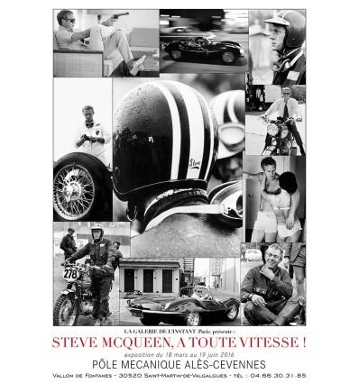 Affiche Steve McQueen A toute Vitesse