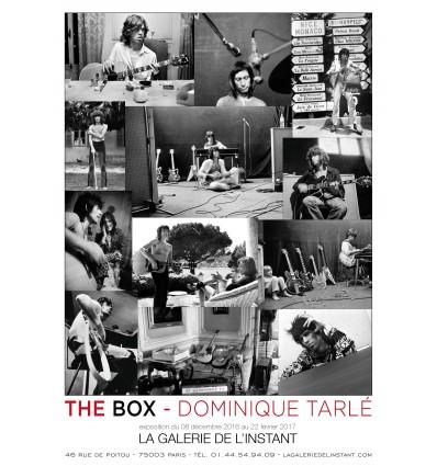 Affiche de l'exposition The Box Dominique Tarlé