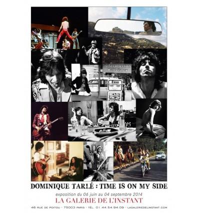 Affiche de l'exposition Time Is On My Side Dominique Tarlé