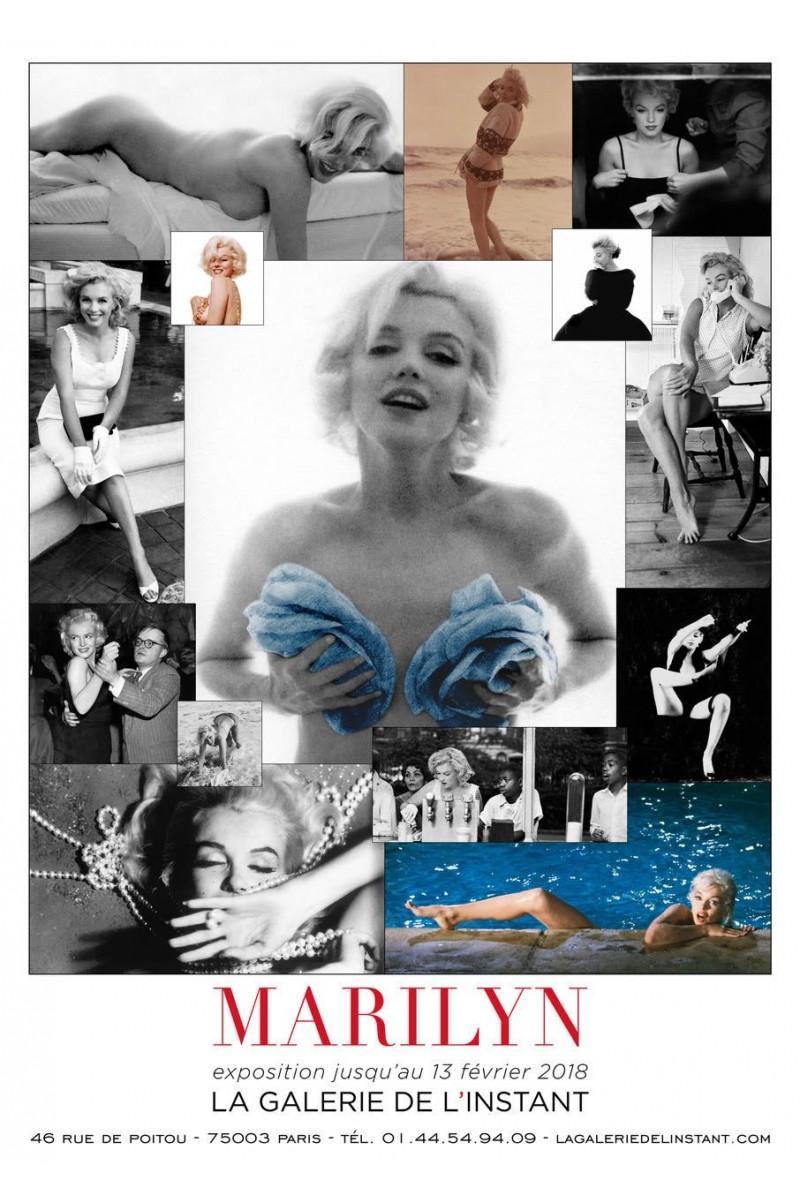 affiche de l u0026 39 exposition photos marlyn monroe