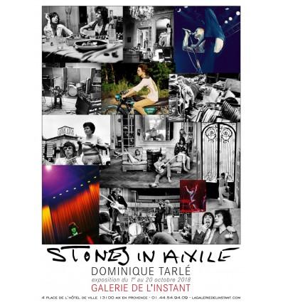 "Poster ""STONED IN PARIS"" Dominique Tarlé"