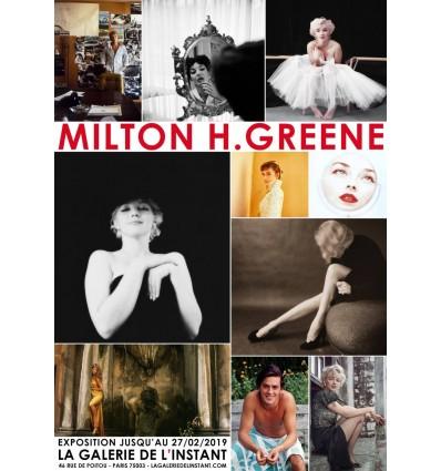 Affiche exposition Milton H. Greene
