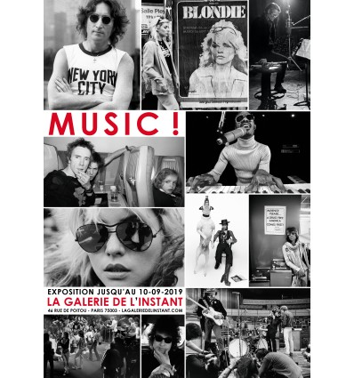 Affiche exposition Music