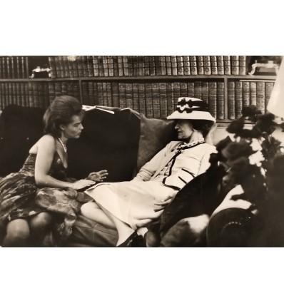 Romy Schneider et Coco Chanel