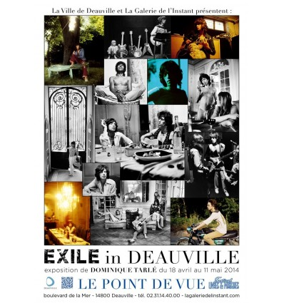 Poster Exile in Deauville Dominique Tarlé