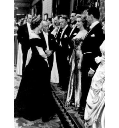 Marilyn Monroe & Reine d'Angleterre