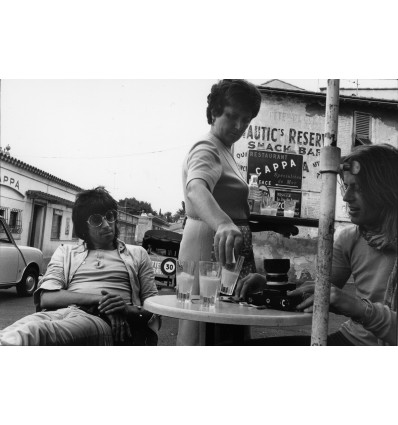 Keith and Tommy, St Jean Cap Ferrat