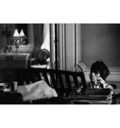 Keith Richards au piano, Villa Nellcote Villefranche sur Mer 1971
