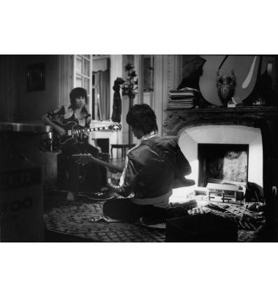 Mick Jagger et Keith Richards, les cartons, Villa Nellcote Villefranche sur Mer 1971
