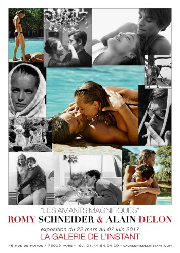 Romy Schneider & Alain Delon Affiche