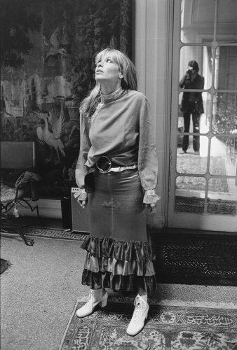 Anita Pallenberg, Villa Nellcote, Villefranche sur Mer, 1971