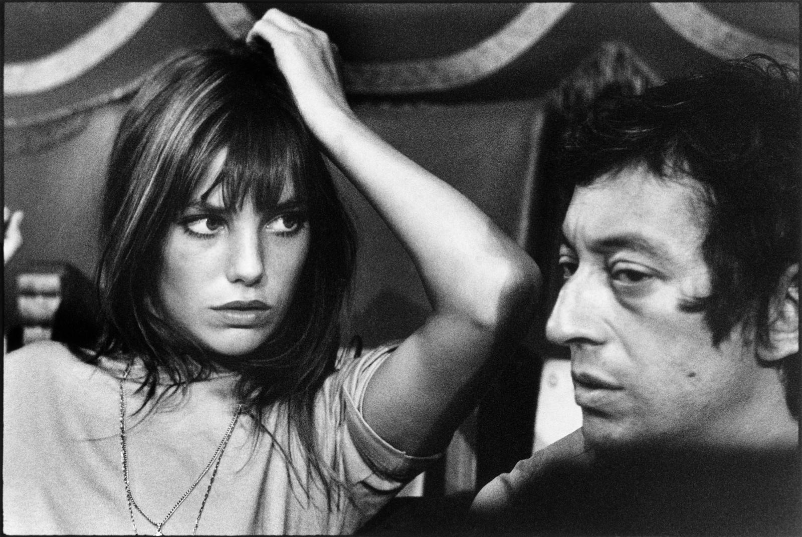 Serge Gainsbourg Jane Birkin Paris, 1969 © Tony Frank