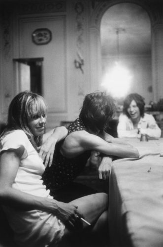 Anita Pallenberg, Keith Richards, Mick Jagger, Villefranche sur Mer, 1971