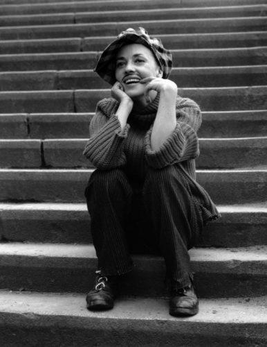 Jules et Jim - François Truffaut -1961 Jeanne Moreau Charenton-le-Pont - Paris (©RAYMOND CAUCHETIER/ LA GALERIE DE L'INSTANT)