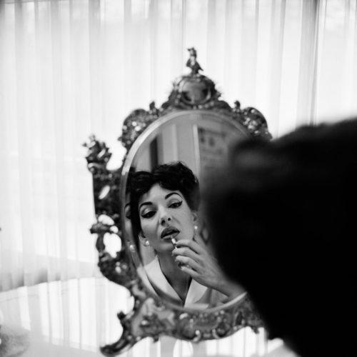MARIA CALLAS, PARIS, 1958