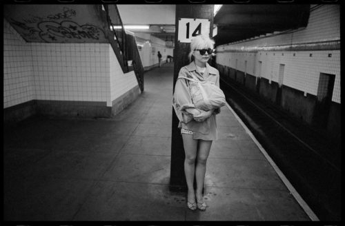 CHRIS STEIN - DEBBIE HARRY, SUBWAY 14TH STREET, NYC, 1980