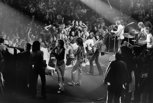DOMINIQUE TARLÉ - THE ROLLING STONES, PALAIS DES SPORTS, PARIS 1970