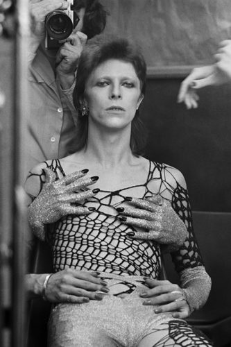 TERRY O'NEILL DAVID BOWIE, THE 1980 FLOOR SHOW, THE MARQUEE CLUB, LONDRES, 1973