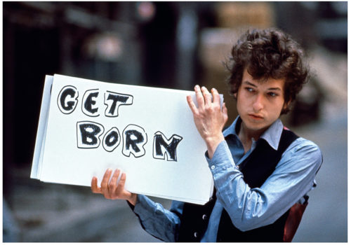 TONY FRANK - BOB DYLAN, TOURNAGE DU CLIP SUBTERRANEAN HOMESICK BLUES, LONDRES, 1965