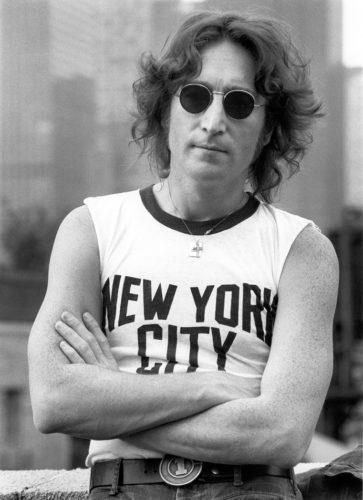 BOB GRUEN JOHN LENNON, NEW YORK, 1974