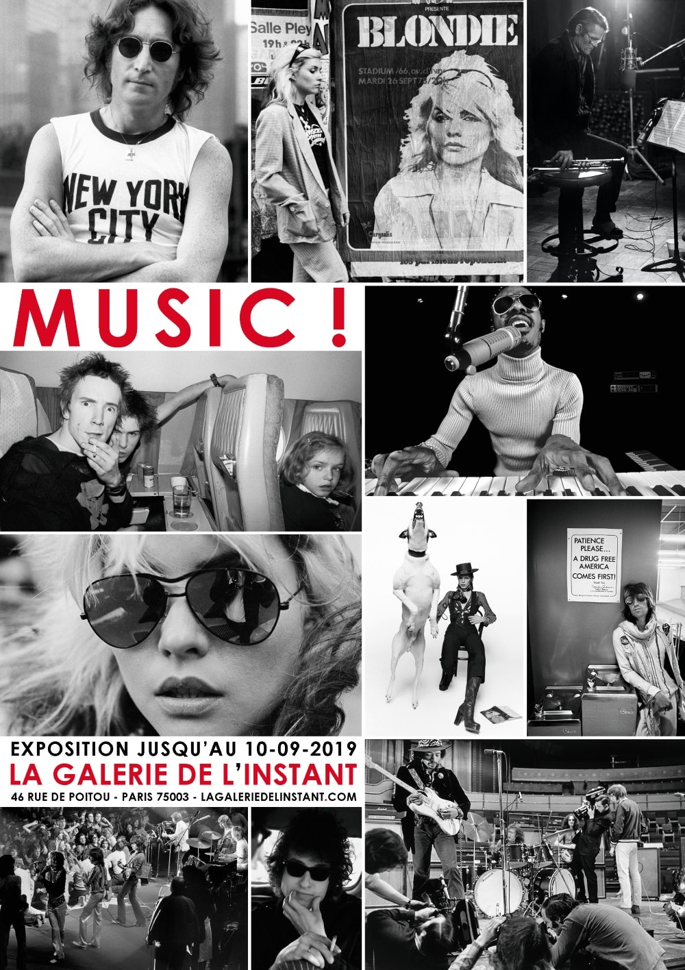 Exposition photo music