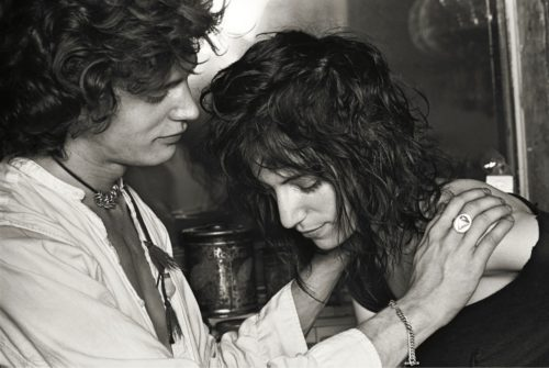Robert Mapplethorpe et Patti Smith par Norman Seeff NY 1969