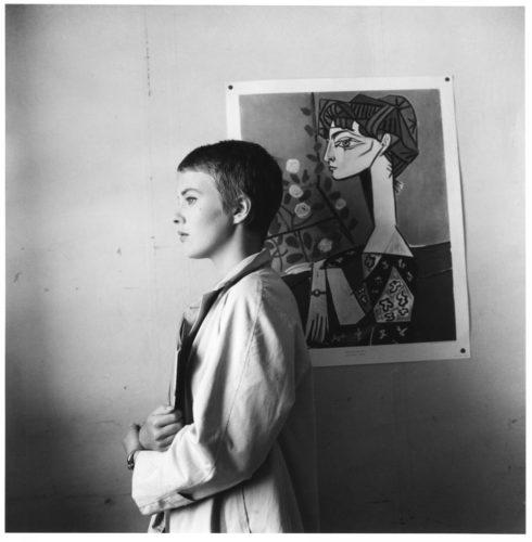 À bout de souffle - Jean-Luc Godard - 1959 Jean Seberg, Hôtel de Suède, Quai Saint Michel, Paris