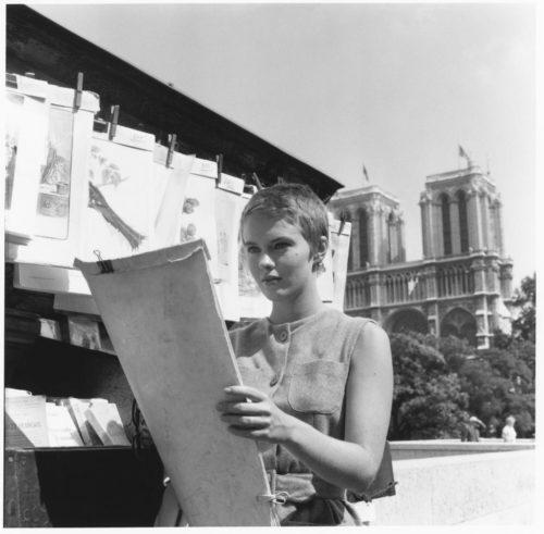 À bout de souffle - Jean-Luc Godard - 1959 Jean Seberg, Paris