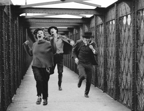 Jules et Jim - François Truffaut - 1961 - Jeanne Moreau, Henri Serre, Oskar Werner - Charenton-le-Pont - Paris
