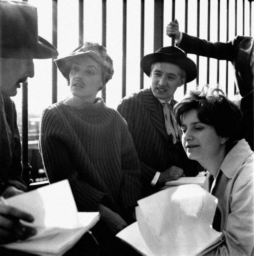 Jules et Jim - François Truffaut - 1961 Jeanne Moreau, Henri Serre, Oskar Werner, Suzanne Schiffman, Charenton-le-Pont - Paris