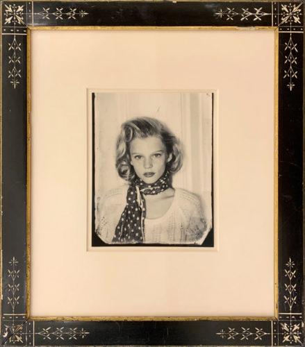 Portrait of My Daughter Harper (framed)