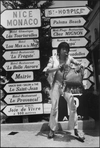 Keith Richards, Saint-Jean-Cap-Ferrat, 1971 (©DOMINIQUE TARLÉ/ LA GALERIE DE L'INSTANT)