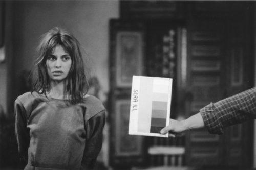 NASTASSJA KINSKI SUR LE TOURNAGE DE HAREM MISE EN SCÈNE PAR ARTHUR JOFFÉ, 1984 (©GEORGES PIERRE, COURTESY LA GALERIE DE L'INSTANT, PARIS)
